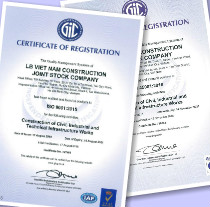 Certificate of Registration ISO 9001:2015 & ISO 45001:2018